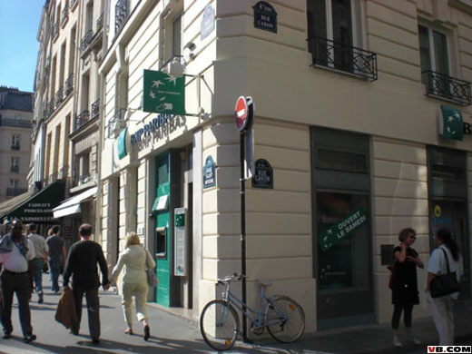 bnp paribas agence st paul 88 rue st antoine by. Black Bedroom Furniture Sets. Home Design Ideas